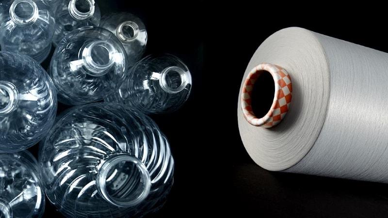 van plastic fles tot sport shirt