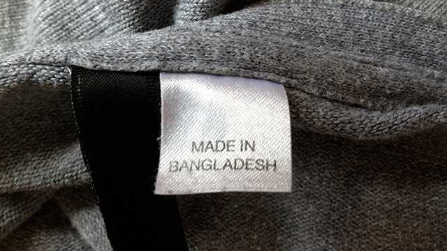 made in bangladesh label