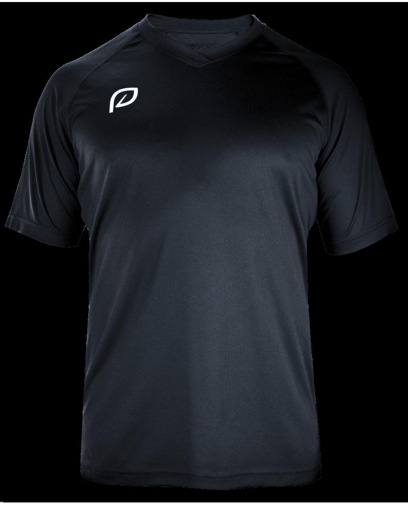 mannen shirt zwart voorkant transparant