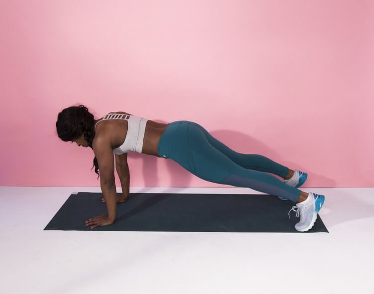 thuis fitness plank