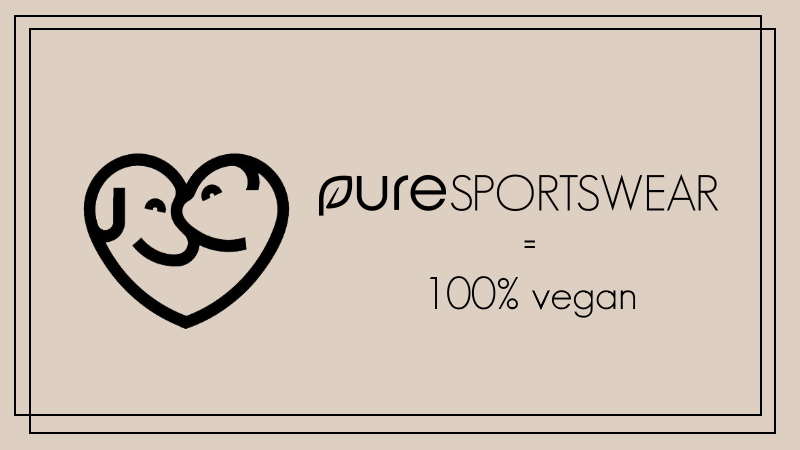 vegan sportkleding van pure sportswear